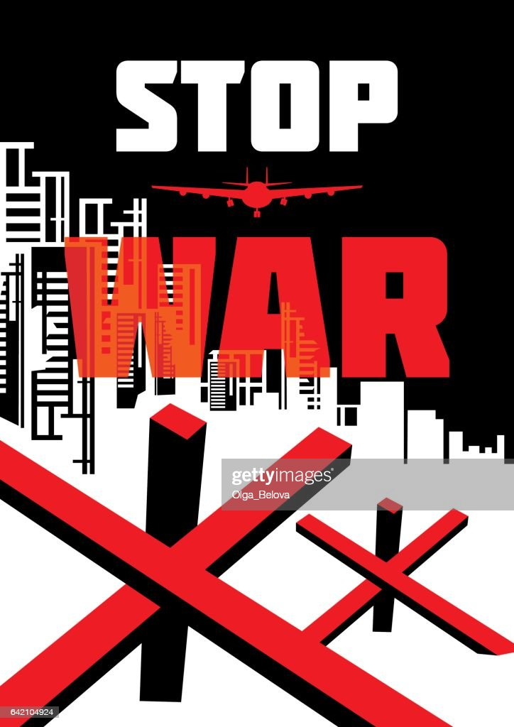 stop war  illustration