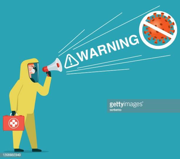 ilustraciones, imágenes clip art, dibujos animados e iconos de stock de detiene el virus - cuarentena