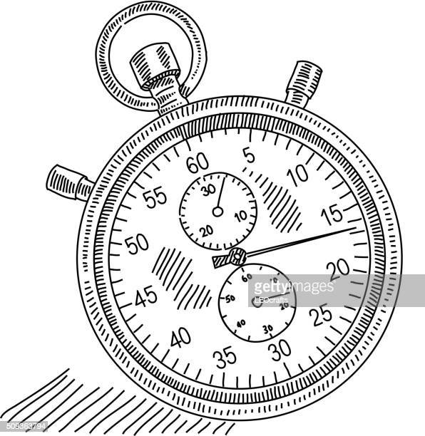 Stopwatch Drawing