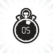 stopwatch five minute
