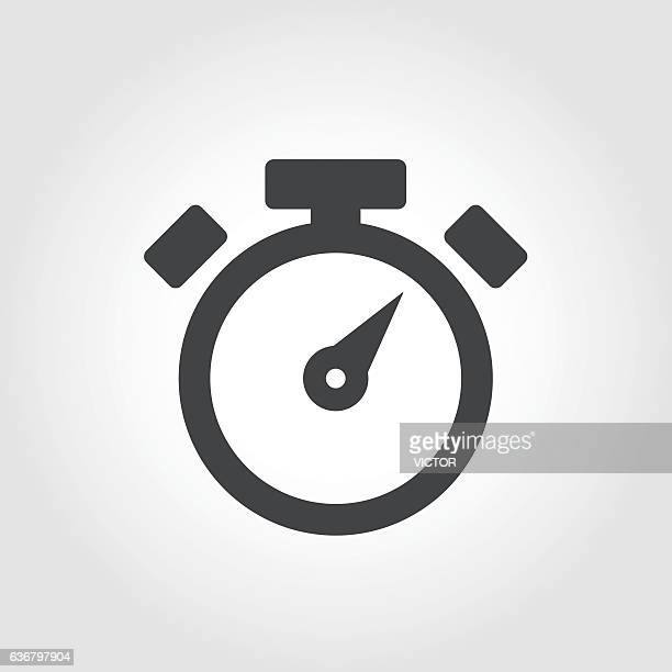 Stopwatch Icon - Iconic Series