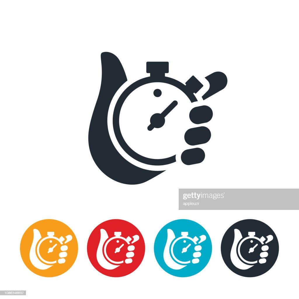 Ícone de cronômetro : Ilustração