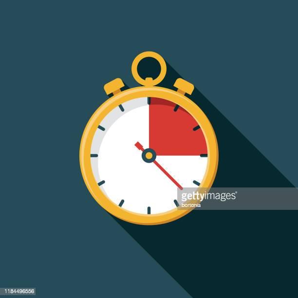 ilustrações de stock, clip art, desenhos animados e ícones de stopwatch icon - ampulheta