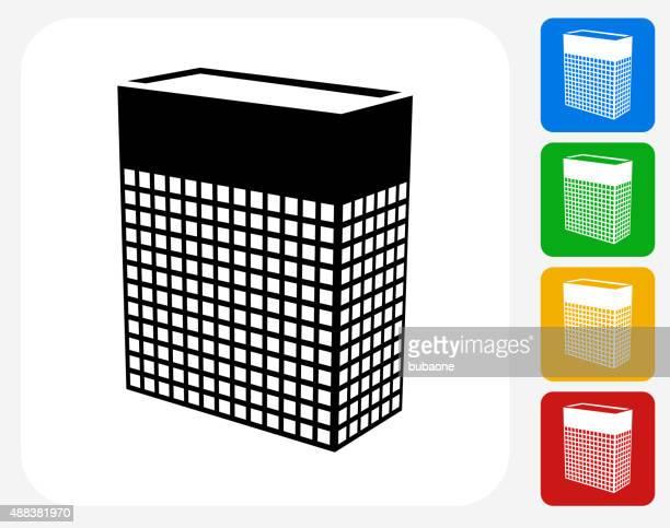 Storage Icon Flat Graphic Design