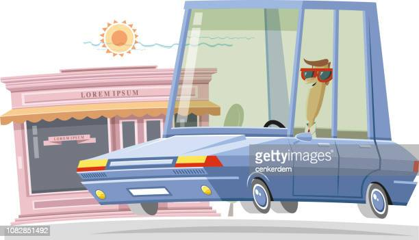 store - car ownership stock illustrations, clip art, cartoons, & icons