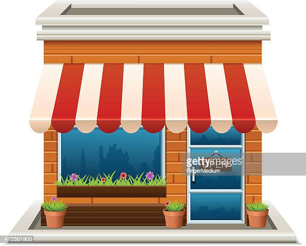 store - small business stock illustrations