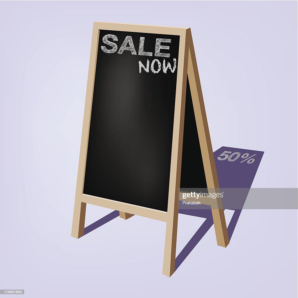 Storefront chalkboard labels