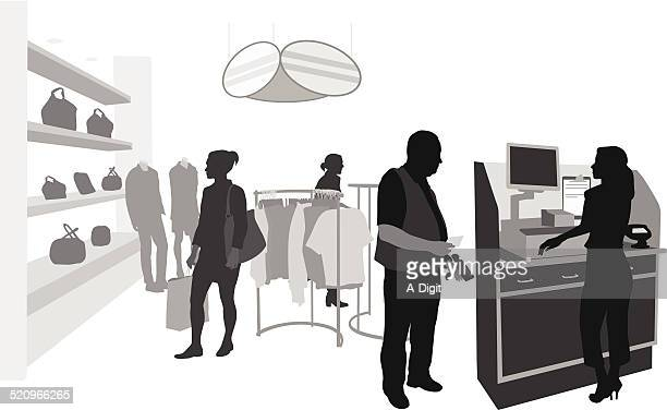 storeoperation - assistant stock illustrations, clip art, cartoons, & icons