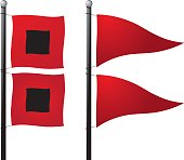 Storm Warning Flags
