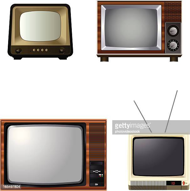 tv story - television industry stock illustrations