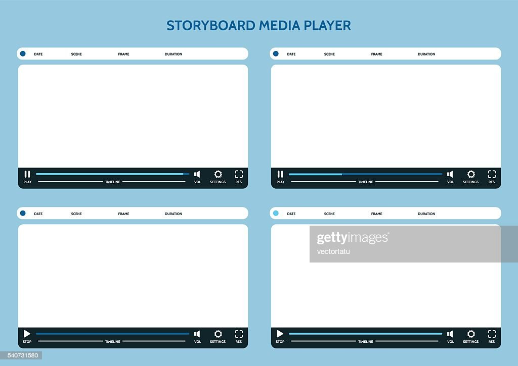 Storyboard media player