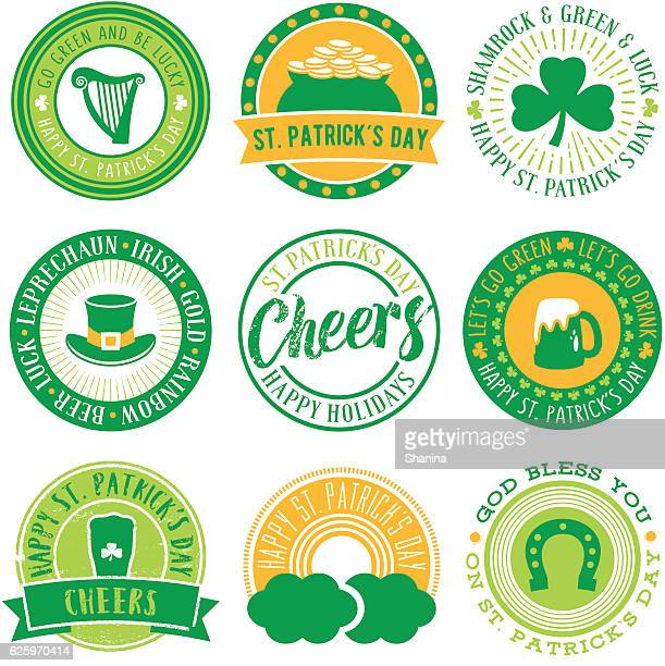 St.Patrick's Day Vector Seals