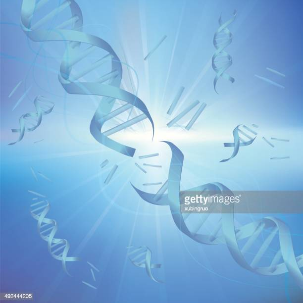 dna strands,abstract background consisting of dna molecules. - high scale magnification stock illustrations