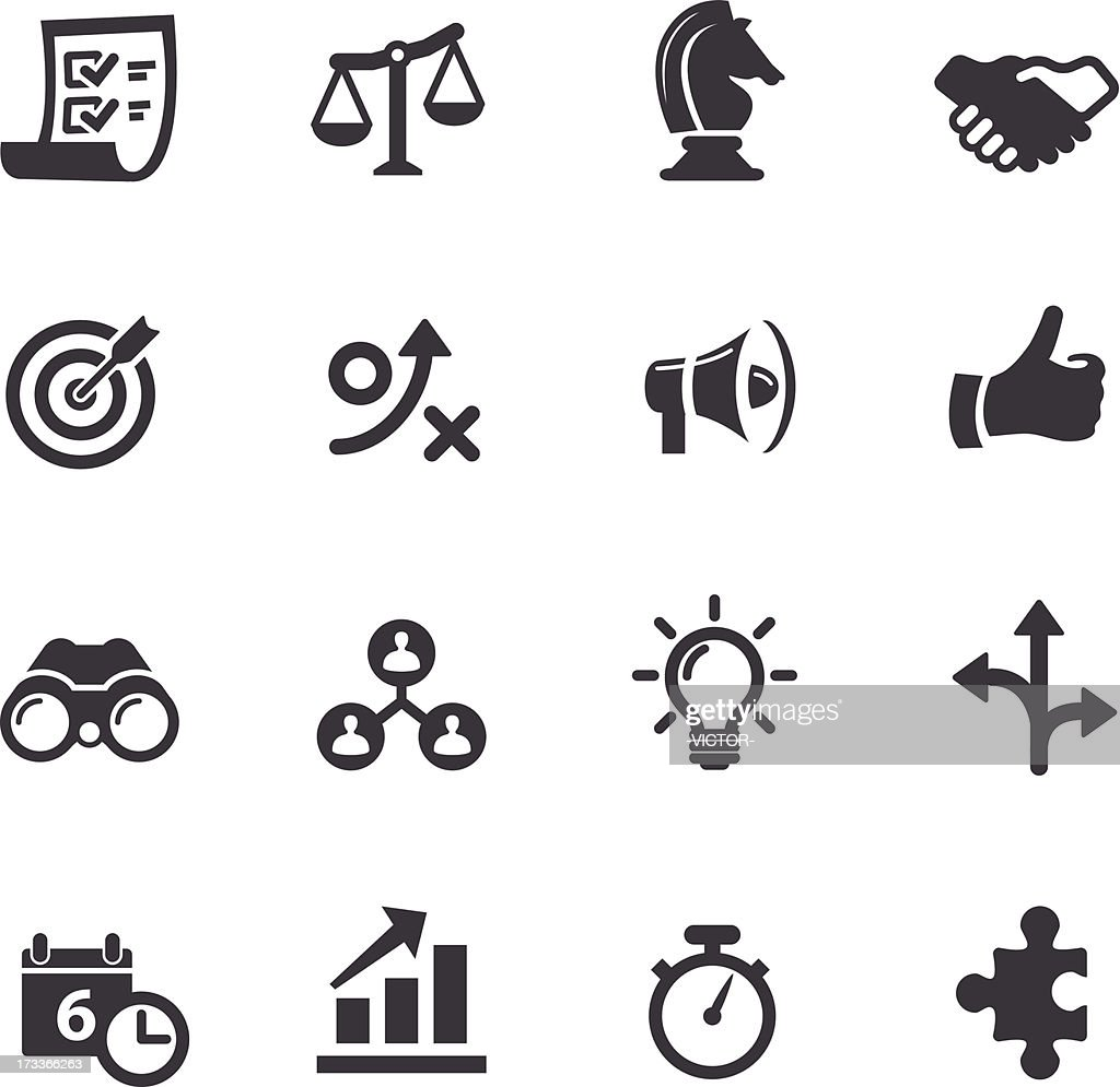 Strategy and Business Icons - Acme Series