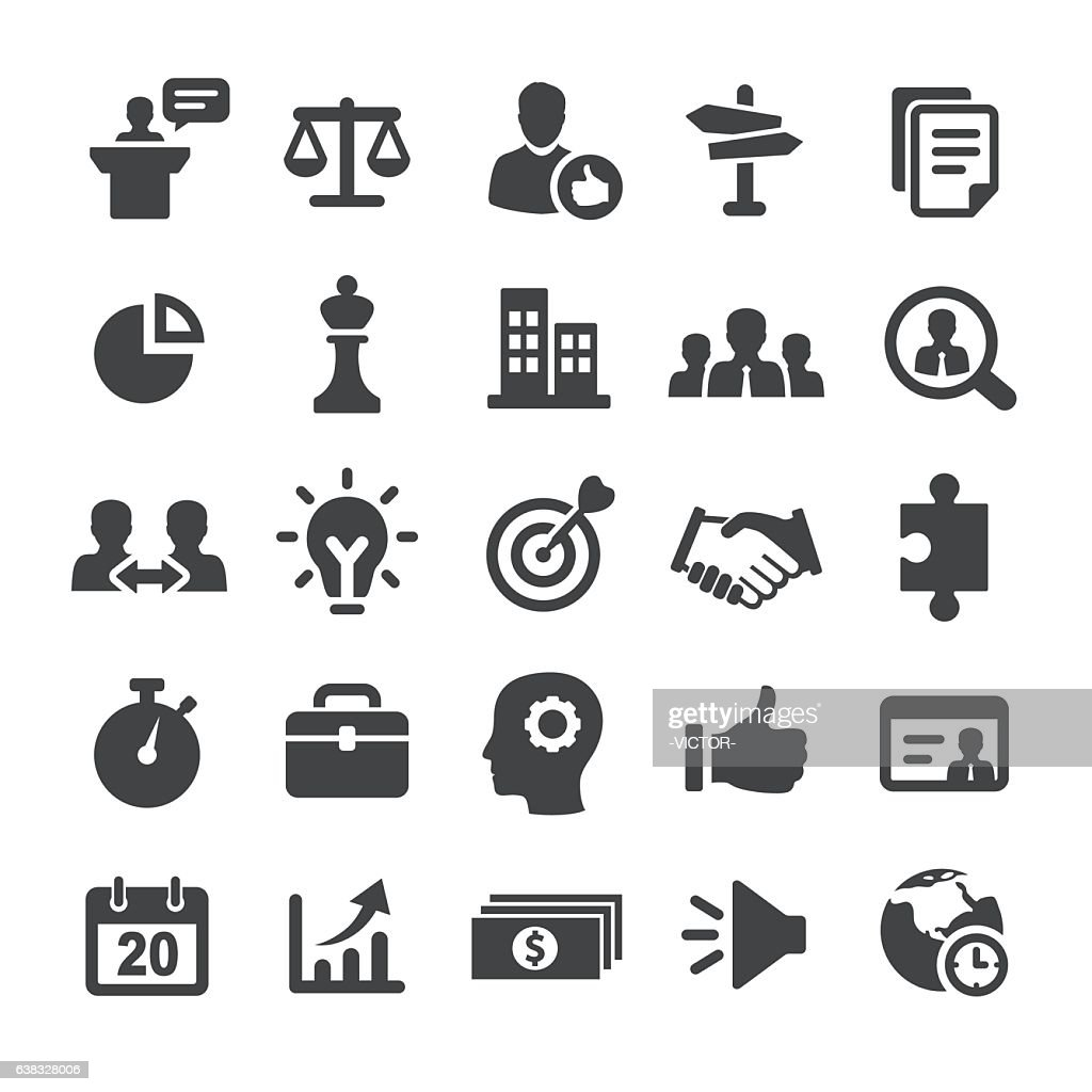 Strategy and Business Icons - Smart Series : stock illustration
