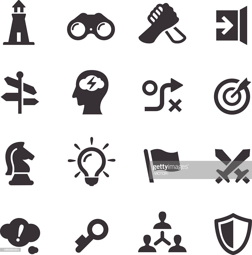 Strategy Icons - Acme Series