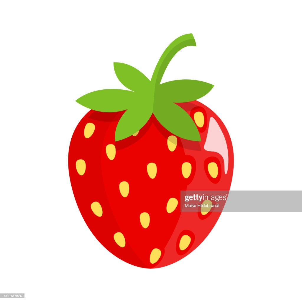 strawberry Flat Design