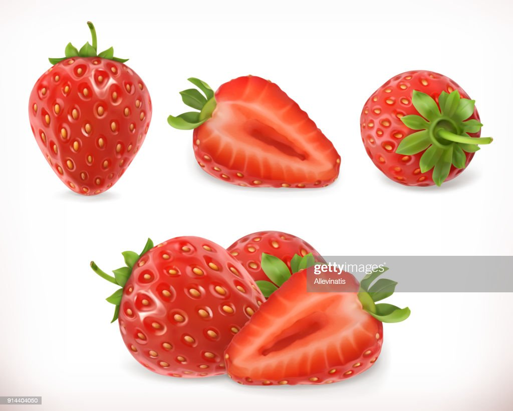Strawberry. Sweet fruit.