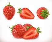 Strawberry. Sweet fruit.