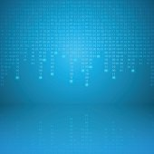 Stream of binary code