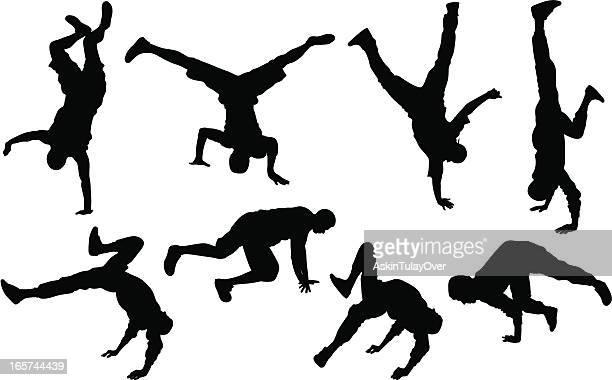 ilustraciones, imágenes clip art, dibujos animados e iconos de stock de street dance - baile moderno