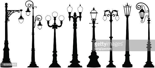 street lights - street light stock illustrations