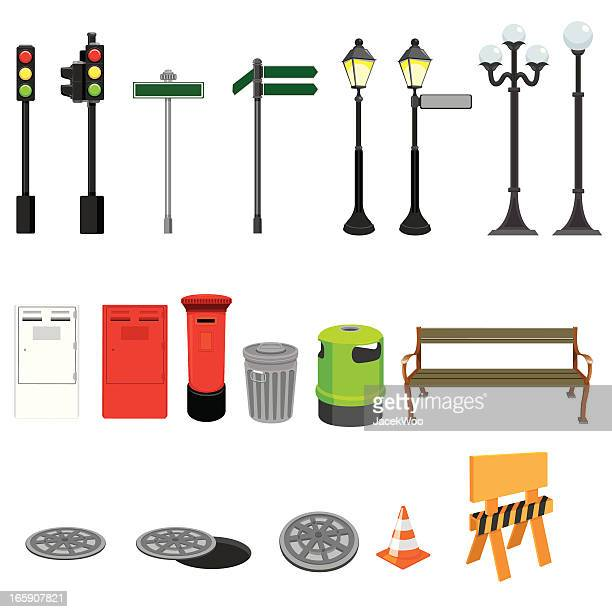 Calle de objetos