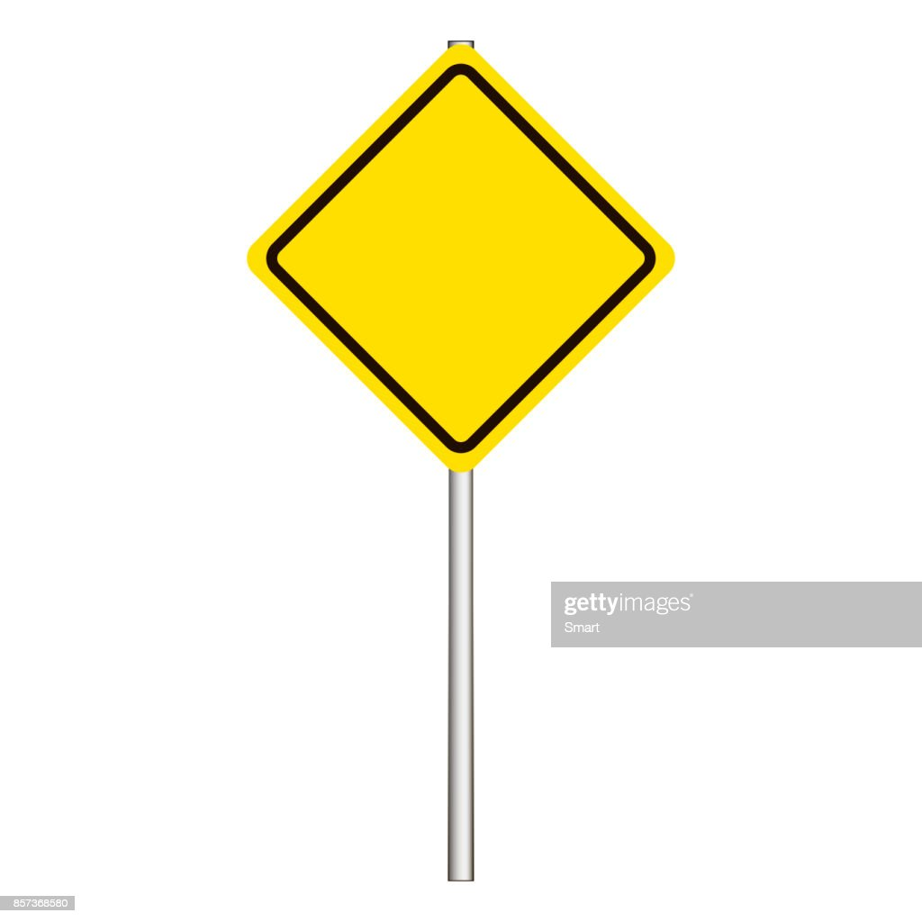 Street, road sign, main road sign on a grey background