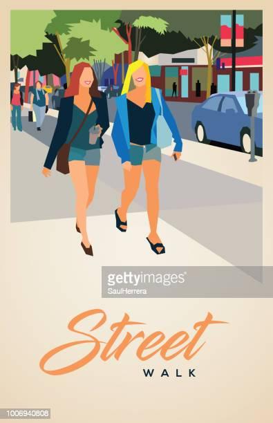 Street a pie