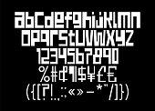 Streetwear Square Font