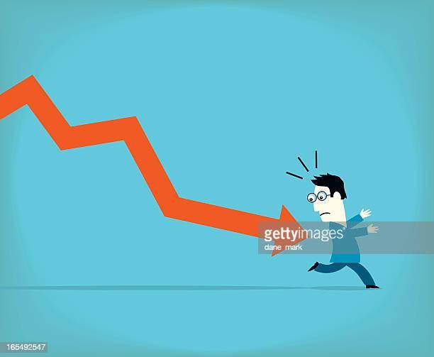 stress - börsenhändler stock-grafiken, -clipart, -cartoons und -symbole