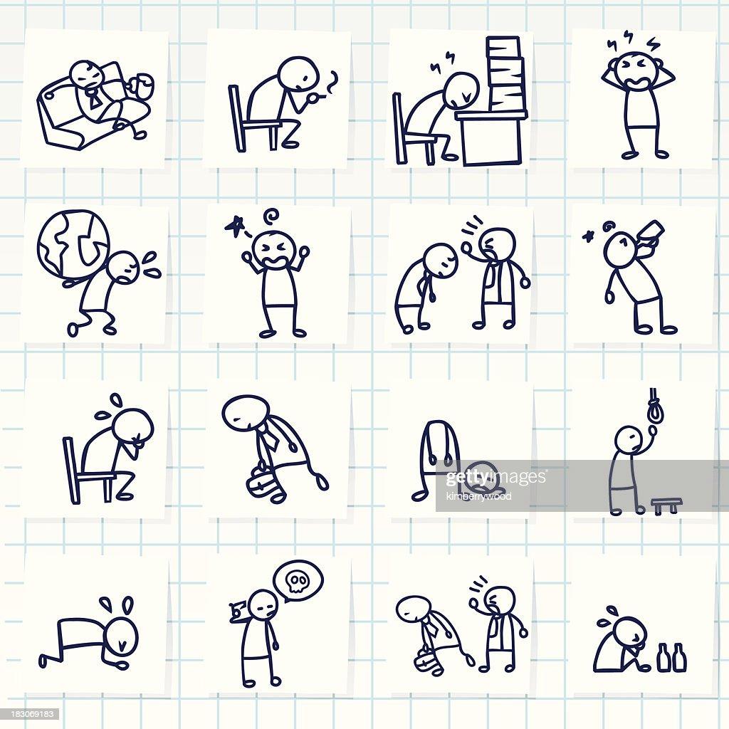 Icono de tensión : Ilustración de stock