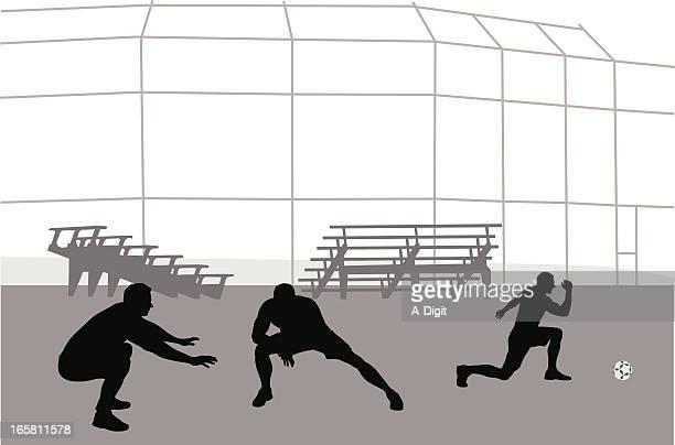 ilustraciones, imágenes clip art, dibujos animados e iconos de stock de estiramiento (stretching) - gradas