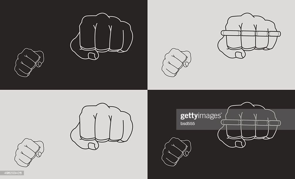Striking fists