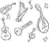 String Instrument Set