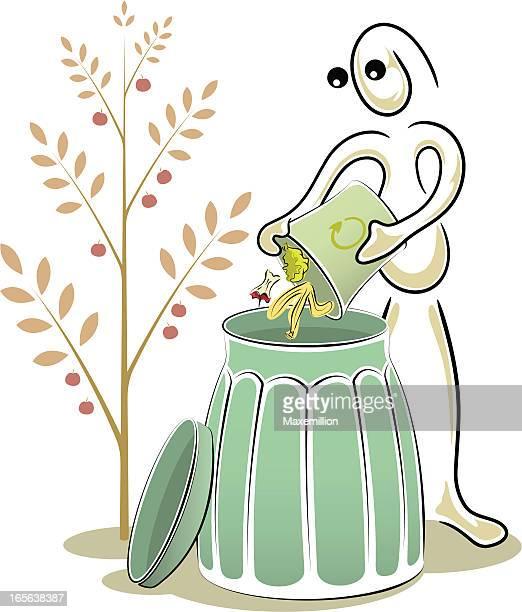 String Man Series: Composting.