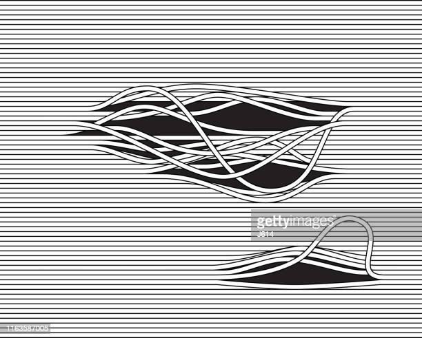 strings - bizarre stock illustrations