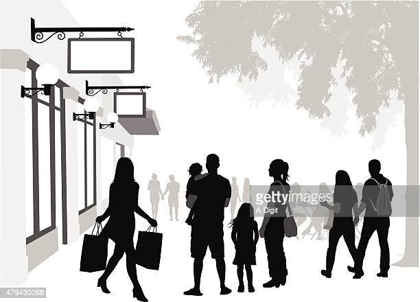 Strip Mall Shoppers