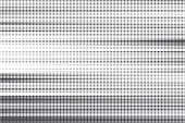 Striped halftone background. Monochrome dots