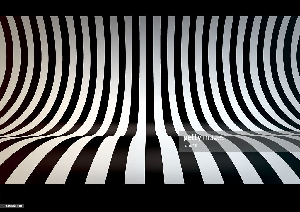 Striped studio backdrop