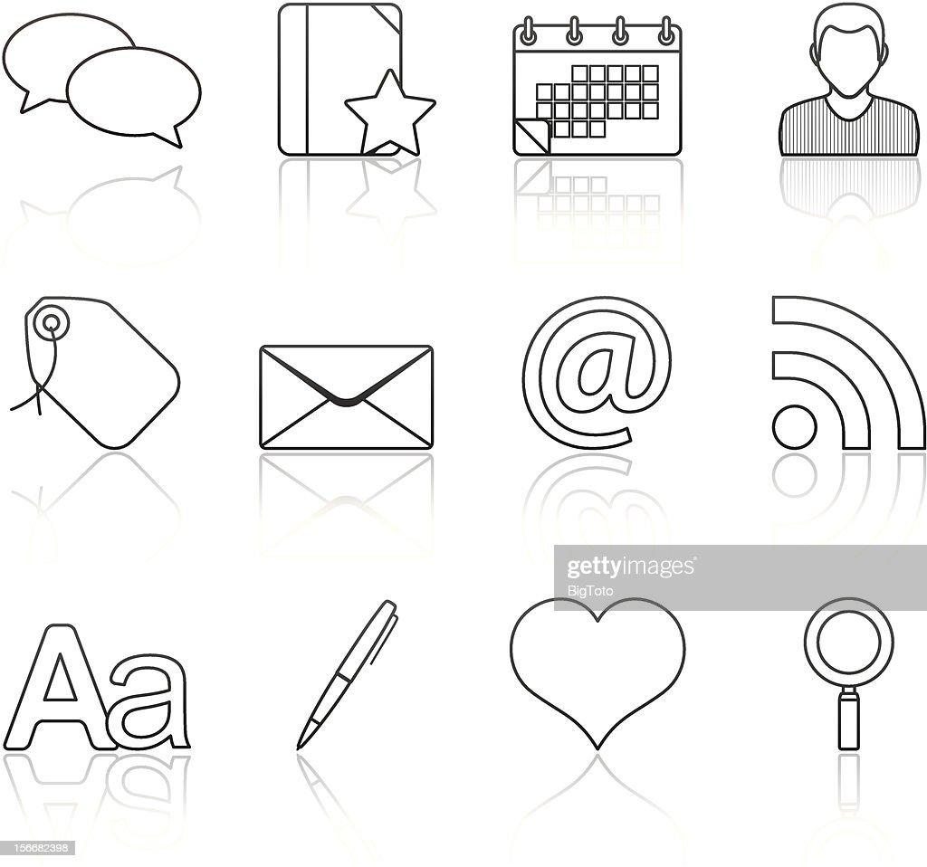 Strokes Series - Blogging (set 4)