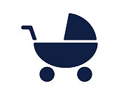 stroller icon baby icon glyph icon cool cute icon