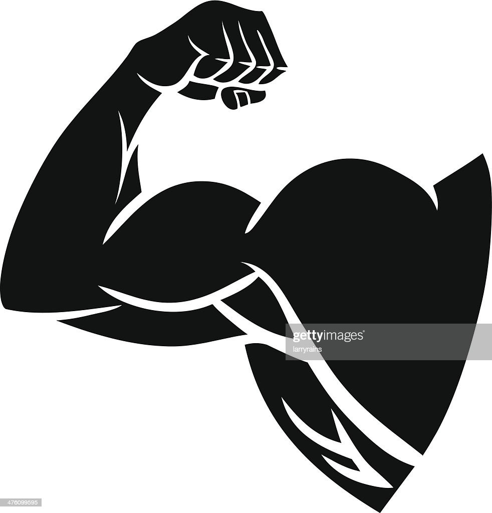 Strong Arm Silhouette
