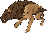 Strong brown warg