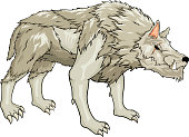 Strong white warg