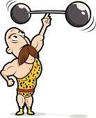Strongman Cartoon - Circus / Carnival