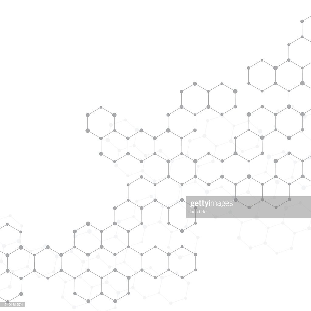 Structure molecule of DNA and neurons. Abstract background. Medicine, science
