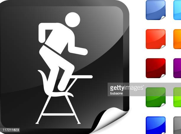 student dancing in class internet royalty free vector art