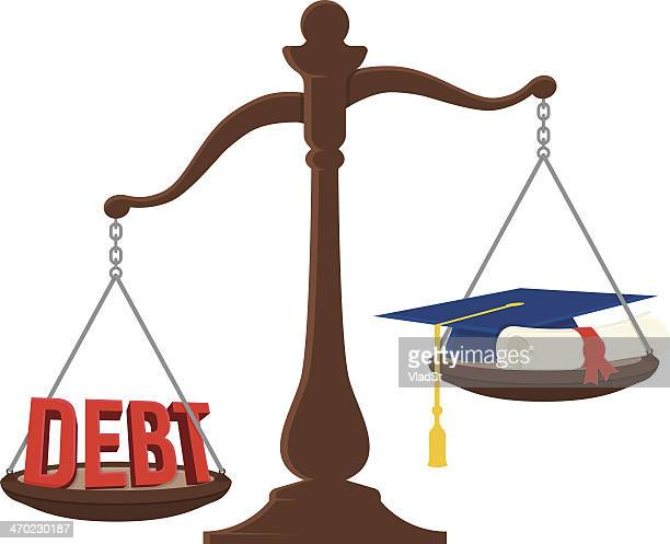 Student debt scale