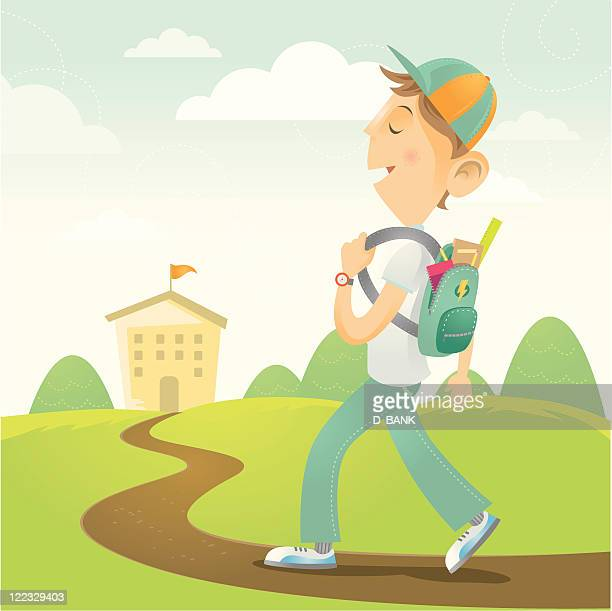 student - school uniform stock illustrations, clip art, cartoons, & icons